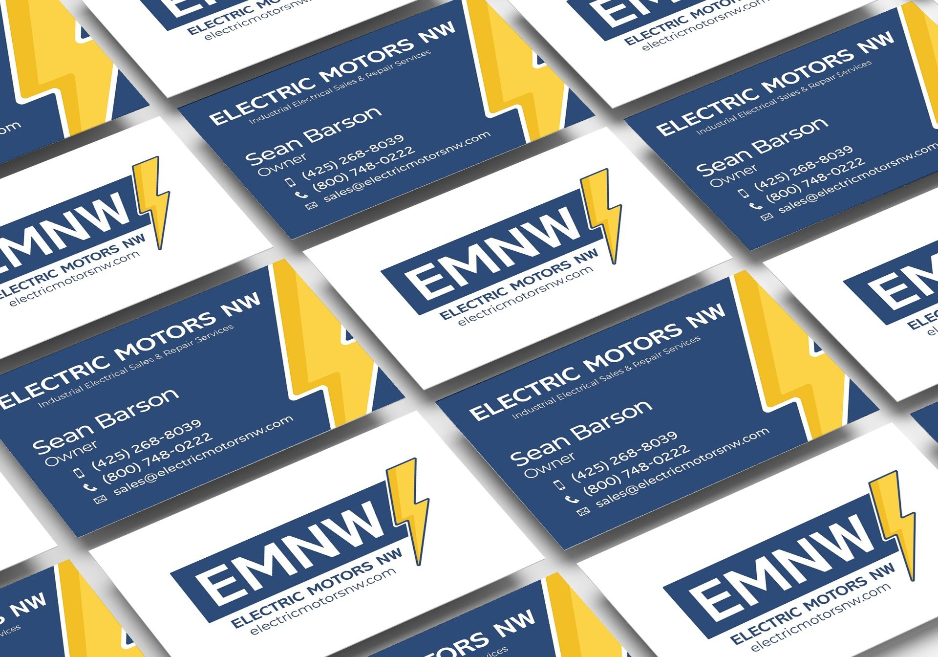 EMNW Business Card Design