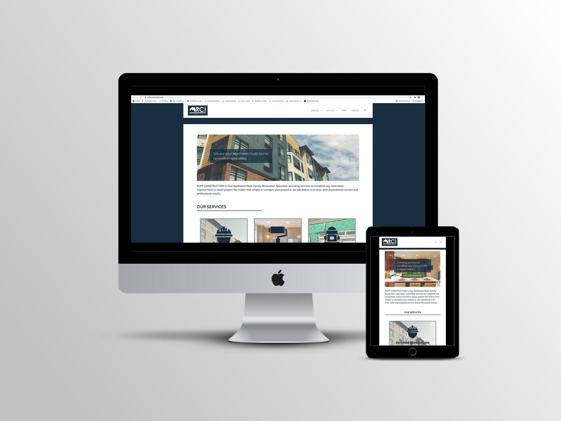 RCI Website Design