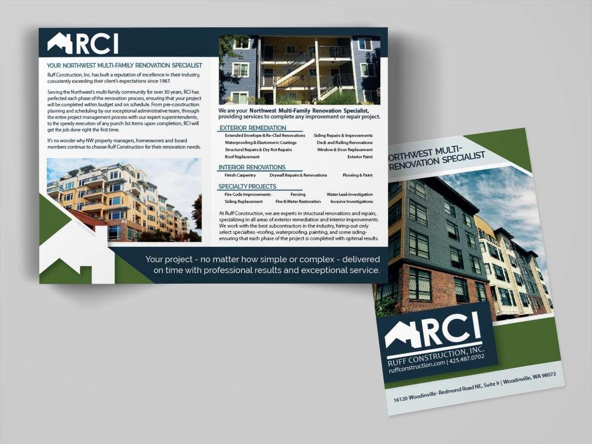 Contractor Brochure Design